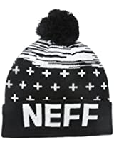 Neff Big Boys' Youth Space Cuff Pom Beanie