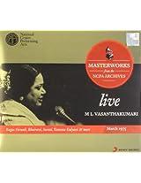 Live Masterworks from the NCPA Archives: M.L. Vasanthakumari