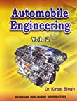 Automobile Engineering (Volume - 2)