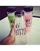 Water bottles hot sale creative juice tea coffee thermos nice readily Lightweight and portable space cup