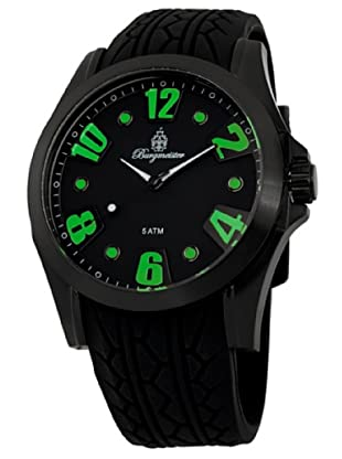 Burgmeister Herren-Armbanduhr XL Analog Quarz Silikon BM606-622D