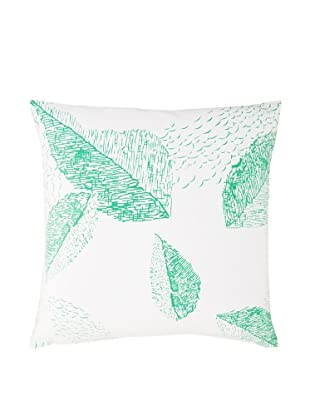 Twinkle Living Cascade Pillow Cover (White/Green)