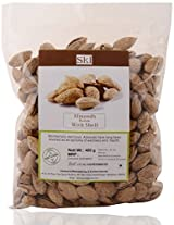 SKI Almond with Shell, 400 grams