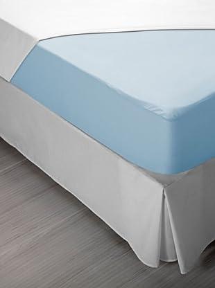 Funda de Colchón Elástica Poliéster (Azul)