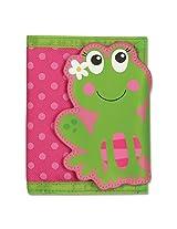 Stephen Joseph Girl Frog Wallet