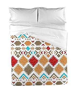 PADUANA Bettdecke und Kissenbezug Viracocha