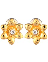 Estelle Gold Plated Studs for Women (ESER497-729)