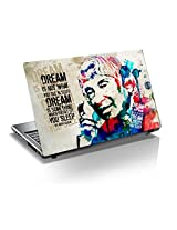 "A Tribute to APJ Kalam Sir 15.6 inch Laptop Skin, 3M Vinyl Fits for 13.3"", 14"", 15"", 15.6"", 16"" Screen, For Motivate Yourself -(Buy 2 and Get 1 Free)"