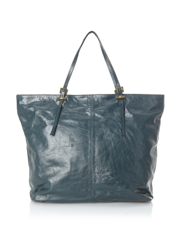 Latico Women's Nadia Large Zippered Tote (Teal)