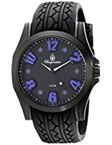 Burgmeister Men's BM606-622E Black Spirit Analog Watch