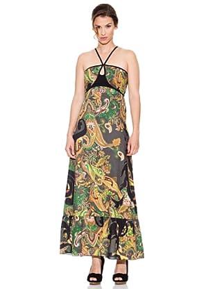 Mahal Vestido Selva (Verde / Negro)