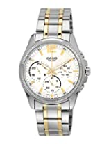 Casio Enticer Analog White Dial Women's Watch - MTP-E305SG-9AVDF(A997)