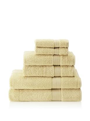 Espalma 6-Piece Signature Bath Towel Set (Leek)