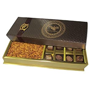 Almond with melting chocolate - Chocholik Premium Gifts