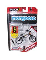 Flick Trix Mongoose Motomag BLACK, BMX fingerbike.