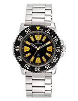 Maxima Hybrid Analog Black Dial Men's Watch - 28543CPGI