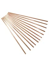 Dakshcraft ® Set Of 12 - Solid Copper Drinking Straw for Beer, Cups/Mugs And Cocktail Glasses, Vodka Beer Bar Collection