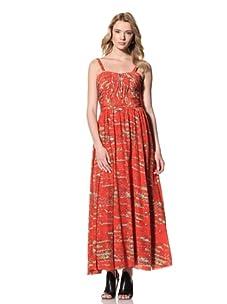 Twinkle by Wenlan Women's Picturesque Dress (Serpentine Watermelon)