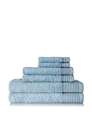 Terrisol Supima 6-Piece Towel Set (Winter Sky)