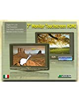 Marshall Electronics M-LCD7-HDMI-B-CE6 7-Inches HDMI Camera-Top Monitor Kit with Canon LPE6 Equivalent Battery for D-SLR Cameras