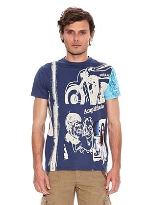 Desigual Camiseta Tovio Rep (Azul)