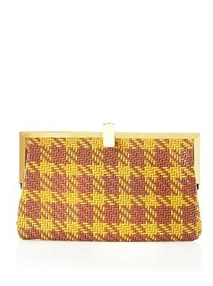 MARNI Women's Frame Bag, Yellow/Tan