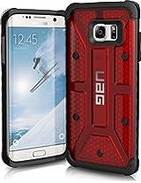 URBAN ARMOR GEAR Cell Phone Case for Samsung Galaxy S7 Edge, Magma