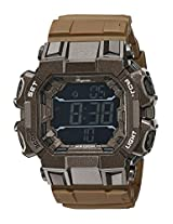 Burgmeister Men's BM804-025 Digital Display Quartz Brown Watch