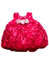 UNNATI PINK BALLON FROCK FOR GIRLS