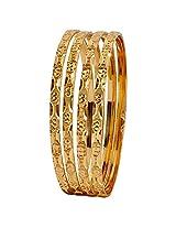 Maayra Hot Gold Micron Gold Plated 2.6 Bangle