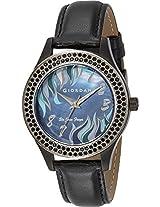 Giordano Analog Black Dial Women's Watch 2589-04