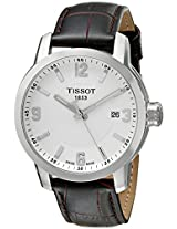 Tissot Silver Dial Analogue Watch for Men (T0554101601701)