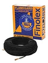 Finolex 6.0-Sqmm Flame Retardant Low Smoke and Halogen Cable (Black)