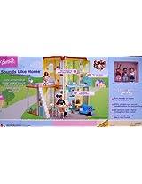 BARBIE Happy Family SOUNDS LIKE HOME SMART HOUSE Playset w LIGHTS & SOUNDS (2004)