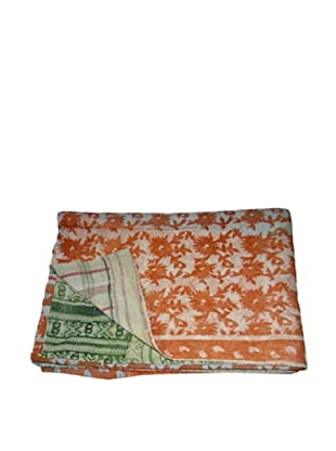 Vintage Kantha Throw Kanti, Multi, 60
