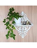 Onlineshoppee Beautiful Wooden Decorative Corner Wall hanging Bracket Shelf/Foldable Wooden Wall Shelf