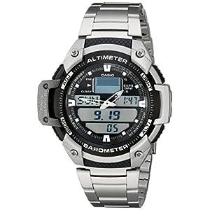 Casio SGW400HD-1B Men's Sports Dial Watch - Grey