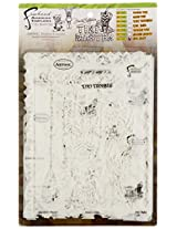 Artool Freehand Airbrush Templates, Tiki Master Set