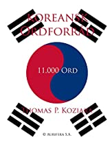 Koreansk Ordforrad (Danish Edition)