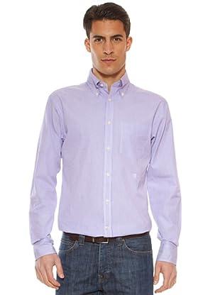Hackett Camisa Rayas (Lila / Blanco)