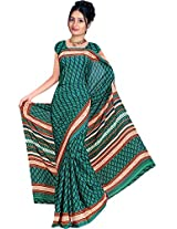 Kothari Saree (SP001MC_Dark Green)