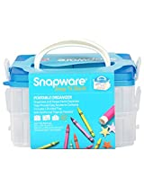 Snapware Snap-N-Stack 2 Layers Square Kids Storage Container, 152.4mm