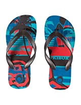 TRIBORD TO100 PRINT CELTIC FLIP-FLOPS (EU 30-31  UK C11.5-12)