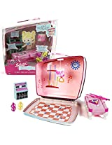 Mga Entertainment Bratz Babyz Accessory Set : 8 Ball Blitz With Pool Hall That Becomes Lunchbox, Pool Table With Balls And Cue Sticks, Lamp, Jukebox And 4 Tiki Cups