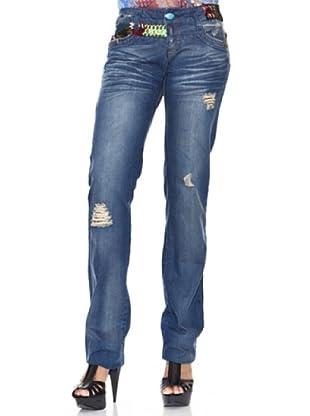 Desigual Jeans Soft (jeans oscuro)