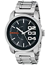 Diesel End-of-Season Analog Black Dial Men's Watch - DZ1370
