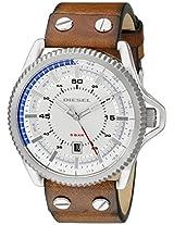 Diesel Rollcage Analog Silver Dial Men's Watch - DZ1715