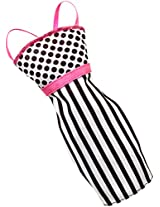 Barbie Fashions Dress Stripes and Dots, Multi Color