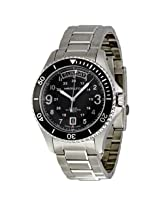 Hamilton Khaki King Scuba Black Dial Gmt Automatic Men'S Watch - Hml-H64515133