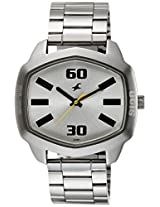 Fastrack Analog Silver Dial Men's Watch - 3119SM01